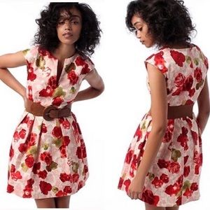 BB Dakota | Floral A Line Dress